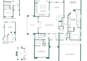 Patio Homes Floor Plans Patio Homes