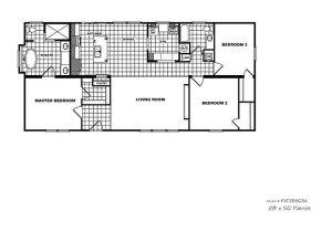 Patriot Mobile Home Floor Plans Cmh Patriot Par28563a 3 Bedroom Double Wide for Sale