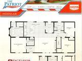 Patriot Mobile Home Floor Plans Schult Homes Patriot Modular Home Plan