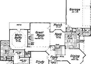 Perfect for Corner Lot House Plans 4 Bedroom 3 Bath House Plan Alp 0681 Allplans Com