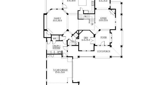 Perfect for Corner Lot House Plans Eplans Craftsman House Plan Bold Perfect Corner Lot