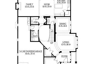Perfect for Corner Lot House Plans Perfect for Narrow or Corner Lots 23143jd