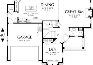 Perfect for Corner Lot House Plans Perfect Home Plan for A Corner Lot 69001am 2nd Floor