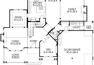 Perfect for Corner Lot House Plans Side Entry Garage Perfect for Corner Lot 23114jd 2nd