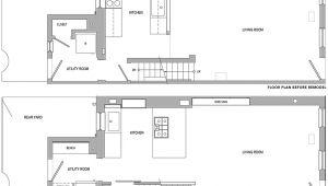Philadelphia Row Home Floor Plan Philadelphia Row House Floor Plan