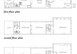 Philadelphia Row Home Floor Plan Row House Floor Plans Quotes