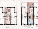 Philadelphia Row Home Floor Plan Rowhouse Plans Modern Joy Studio Design Gallery Best