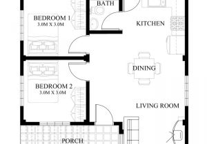 Philippine House Designs and Floor Plans for Small Houses Small House Design Series Shd 2014008 Pinoy Eplans