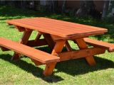 Picnic Table Plans Home Depot Benches Outdoors Outdoor Wooden Picnic Tables Wooden