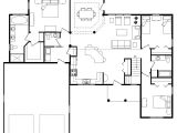 Pictures Of Open Floor Plan Homes Best Open Floor House Plans Cottage House Plans