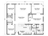 Plan for Home Wellington 40483a Manufactured Home Floor Plan or Modular