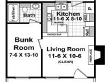 Plan for00 Square Feet Home Cottage Style House Plan 1 Beds 1 00 Baths 400 Sq Ft