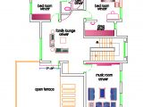Plan Of Home south Indian House Plan 2800 Sq Ft Kerala Home Design