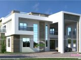 Plan Of Homes Flat Roof Arabian House Plan Kerala Home Design and