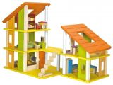 Plan toys Eco House Buy Plantoys Chalet Dollhouse with Furniture