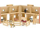 Plan toys Farm House Drewniana Stajnia I Farma Ze Zwierzetami Melissa Doug