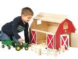 Plan toys Farm House John Deere Big Wooden Barn Gift Ideas Pinterest