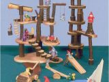 Plan toys Tree House Tree House toys Tree Blocks and Branch Swings Tree
