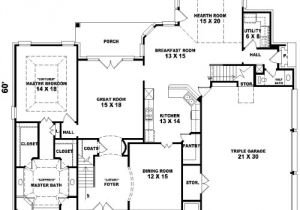 Plan Your Dream Home French Dream 8149 4 Bedrooms and 3 Baths the House
