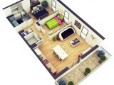 Plan Your Home 3d 25 More 2 Bedroom 3d Floor Plans Amazing Architecture