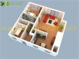 Plan Your Home 3d 3d Small House Floor Plans Small House Plans 3d Johnywheels