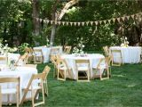 Planning A Home Wedding Backyard Wedding Reception Decoration Ideas Wedding