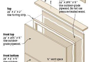 Plans for A Bat House Download Bat House Plans Free Plans Free