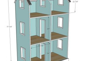 Plans for American Girl Doll House Ana White Three Story American Girl or 18 Quot Dollhouse