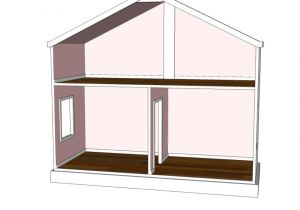 Plans for American Girl Doll House Doll House Plans for American Girl or 18 Inch by Addielillian
