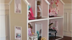 Plans for American Girl Doll House Karen Mom Of Three 39 S Craft Blog Doll Houses for the
