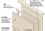 Plans for Building A Bat House May 2008 the Lazy Homesteader