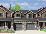 Plans for Duplex Homes Multi Family Craftsman House Plans for Homes Built In
