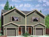 Plans for Duplex Homes Small Duplex Plans for Narrow Lots Joy Studio Design