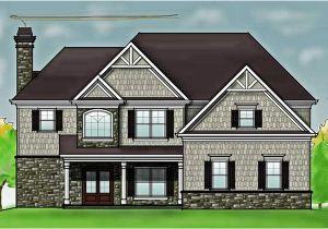 Plans for Homes Free 2 Story 4 Bedroom Rustic House Floor Plan by Max Fulbright