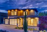 Plans for Modern Homes Modern House Plan with Finished Lower Level 85223ms