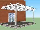 Plans for Pergola attached to House attached Pergola Plans Howtospecialist How to Build