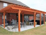Plans for Pergola attached to House Shaded attached Pergola Design Plans for Your Home