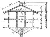 Plans for Purple Martin House 1000 Ideas About Purple Martin House Plans On Pinterest