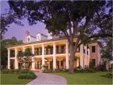 Plantation Homes Plans southern House Plans southern Home with Colonial Flair