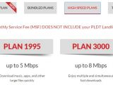 Pldt Home Fibr Plan99 Pldt Mydsl Plans and Price for Up to 3 5 8 and 10 Mbps