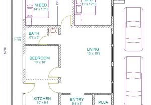 Plot Plans for My House 30 X 60 House Plans south Facing House Plans