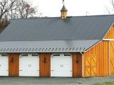 Pole Barn Home Plans with Garage Three Stall Garagepole Barn with Living Quarters Indiana