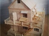 Popsicle Stick House Plans Free Popsicle Stick Model House Plans