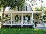 Porch Home Plans southern Country Style Homes southern Style House with