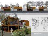 Portfolio Home Plans Architecture Portfolio Layout Indesign House Plans