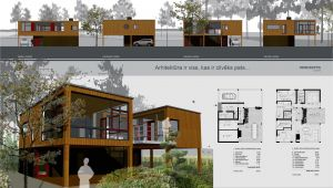 Portfolio Home Plans Architecture Portfolio Layout Indesign House Plans