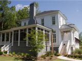 Portfolio Home Plans Studio 291 Back Of Charleston Style Custom Home Design