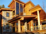 Post and Beam Log Home Plans Log Post and Beam