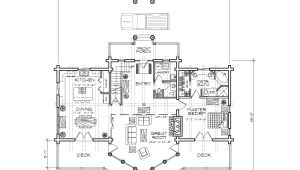 Precision Log Home Floor Plans Beartooth Log Home Plan by Precisioncraft Log Timber