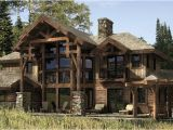 Precisioncraft Log Home Floor Plans Dakota Log and Timber Home Plan by Precisioncraft Log